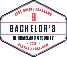 Homeland Security program ranked #5