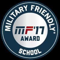 Military Friendly 2017 logo