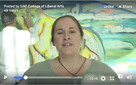 LIVE: Explore UAF's online art courses