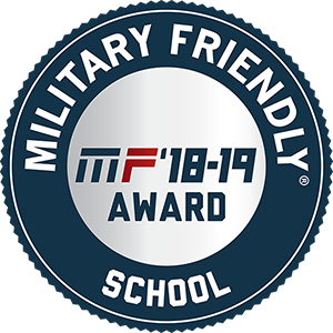 UAF's 2016 Military Friendly award and MAET Top Colleges & Universities award for 2016