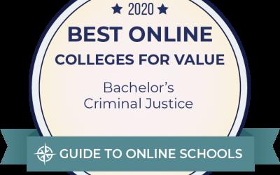 UAF on list of best online criminal justice degrees