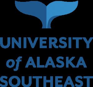 University of Alaska Southeast logo with whale tail