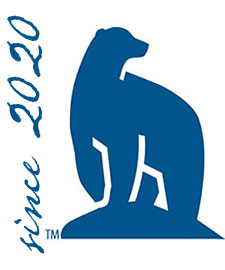 Nanook bear standing next to 'since 2020' text